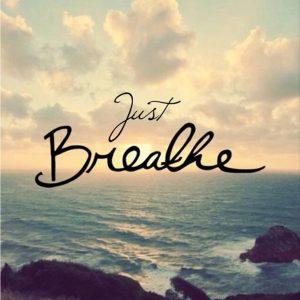make time to take a breath