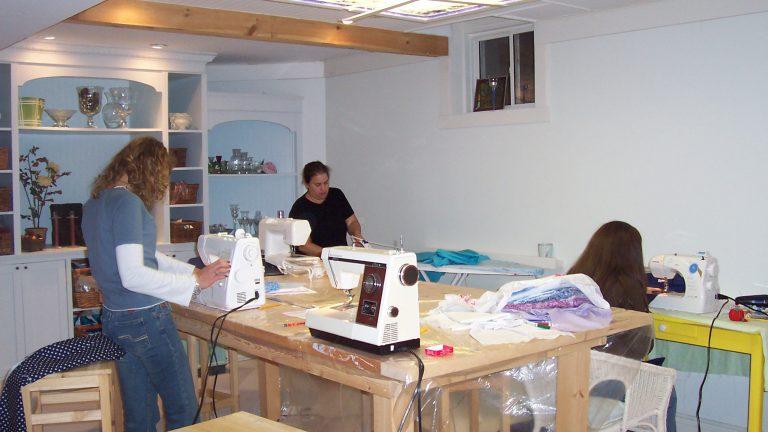 heather builds studio