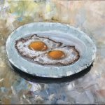 eggs on the palette